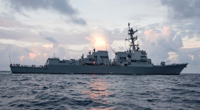 DDG-51 Flight III Design Efforts Nearly Complete; Radar, Power Systems Testing in 2018