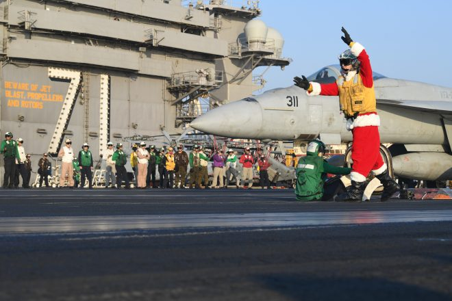 Seasons Greetings from the Navy and Marine Corps