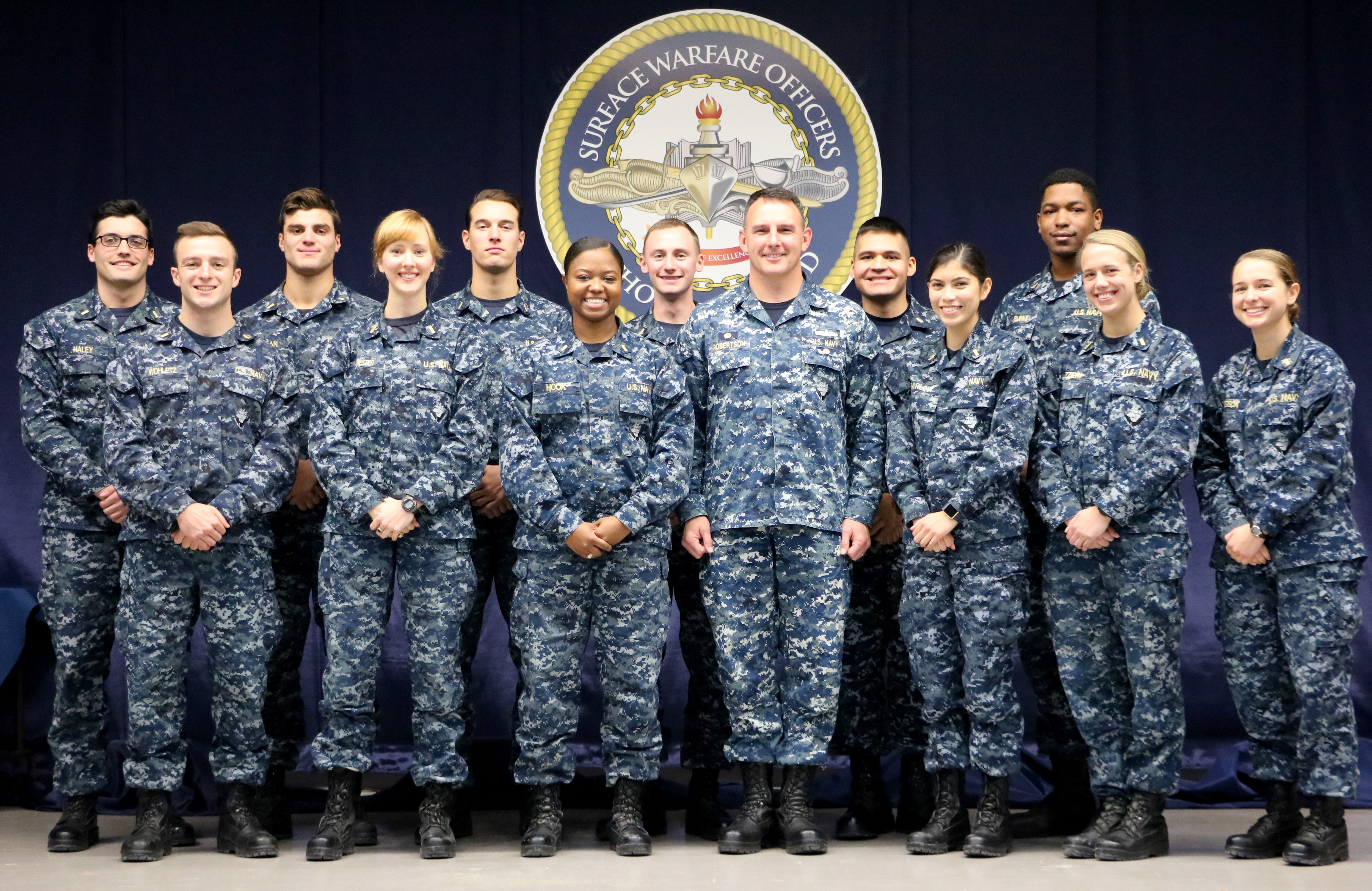 Ensigns Complete Junior Officer of the Deck Pilot Course to Increase