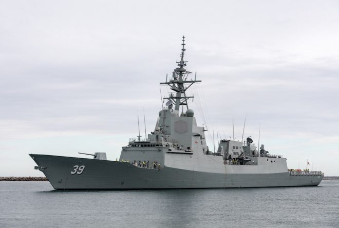 Australian Destroyer Will be First Foreign Warship to Install Raytheon's Cooperative Engagement Capability