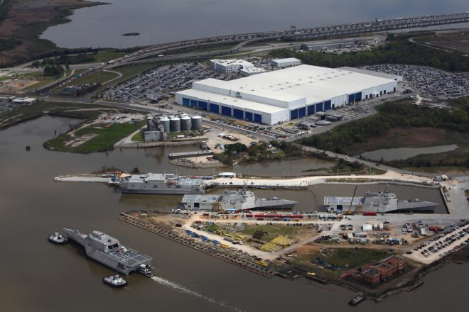 Federal Agents Comb Through Austal USA Shipyard as Part of Apparent Financial Investigation