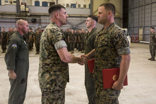 2 Marine UAV Operators Earn First Navy and Marine Corps Achievement Medal with New 'Remote Impact' Device