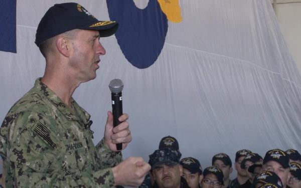 CNO Adm. Richardson Wants More Exercises with Foreign Navies in 2018