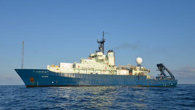 Woods Hole Research Vessel Searching Atlantic for Lost Argentine Sub