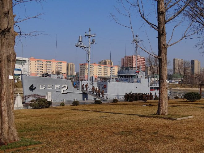 North Korea Commemorates 50th Anniversary of USS Pueblo Seizure