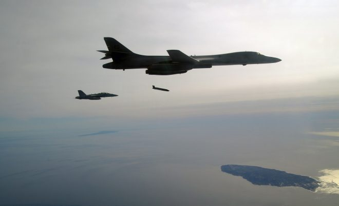 Pentagon Tests Next-Gen Anti-Ship Missile From Air Force B-1B Bomber
