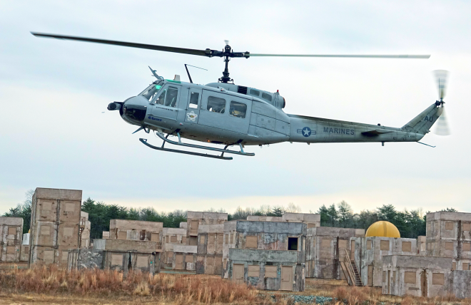 Marines Fly Helos with Tablets in Test of New Unmanned Aerial Resupply Scheme