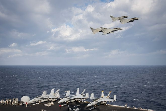 French Rafale Fighters to Deploy on Carrier USS George H.W. Bush This Spring