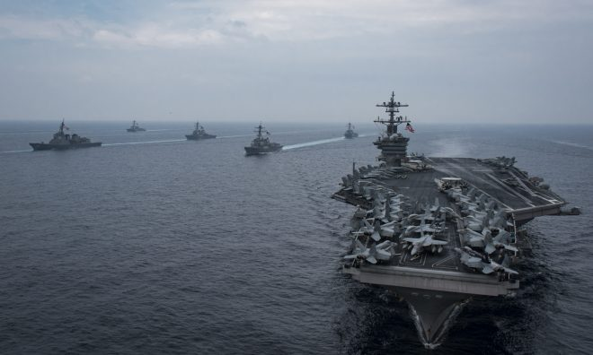 Carl Vinson Strike Group Departs for Second '3rd Fleet Forward' WESTPAC Deployment