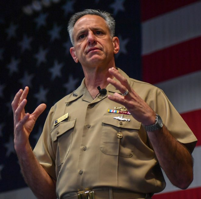 CNP Burke Wants to Empower Enlisted Sailors to Negotiate Detailing via Mobile Apps