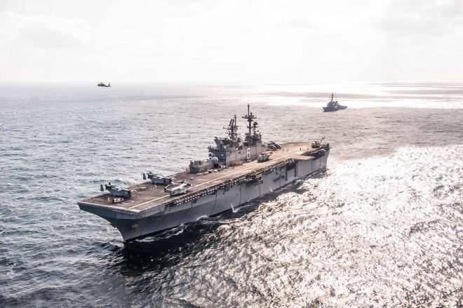 Navy, Marines Eyeing Ship Capability Upgrade Plans that Focus on Weapons, C5I