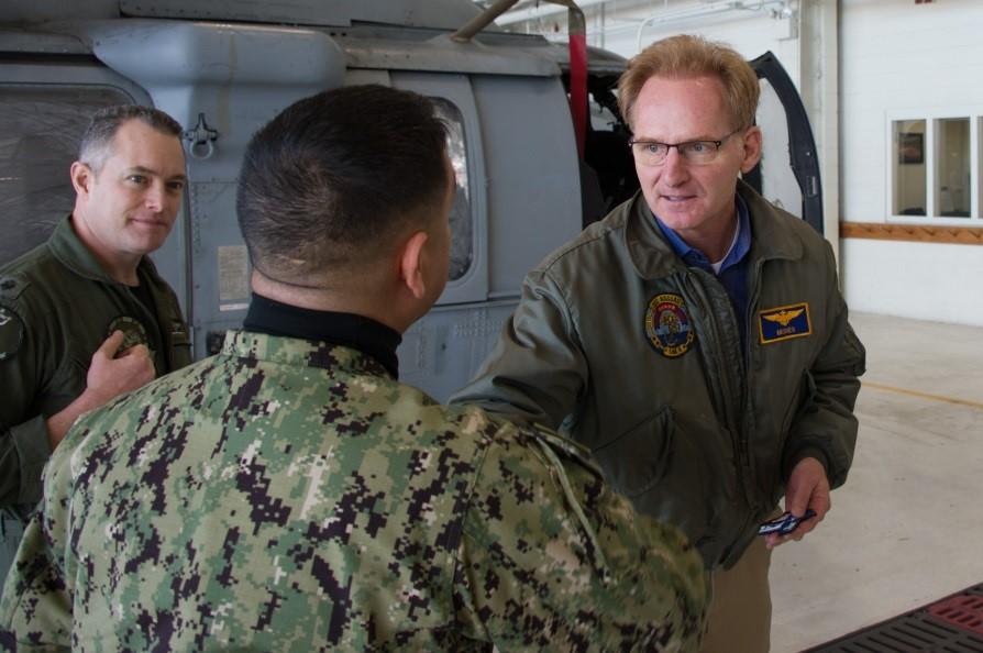 Under Secretary of the Navy Modly Wants a Navy, Marine Corps