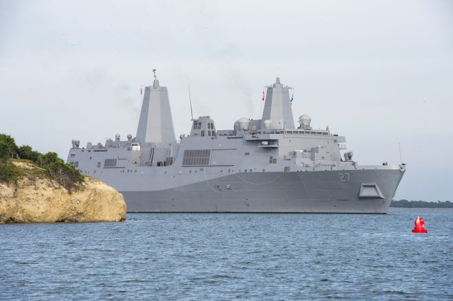 LPD Portland Will Host ONR Laser Weapon Demonstrator, Serve as RIMPAC 2018 Flagship