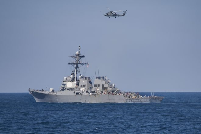 U.S. Navy Denies Iranian Drones Chased Away Destroyer Near Gulf of Oman