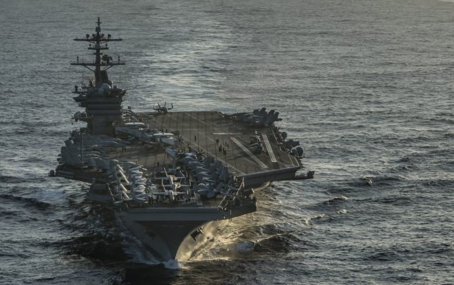 U.S. Plans to Send Aircraft Carrier Vinson to Vietnam