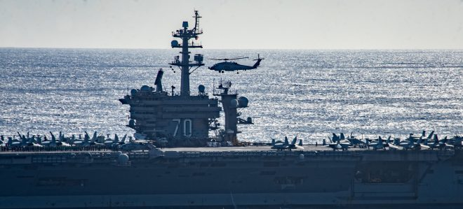 Carrier USS Ronald Reagan Maintenance Prompted Short Vinson Carrier Strike Group Deployment