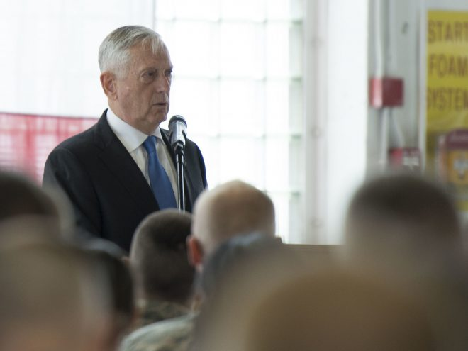 SECDEF Mattis Unveils New 'Lethal' National Defense Strategy Focused on Great Power Competition