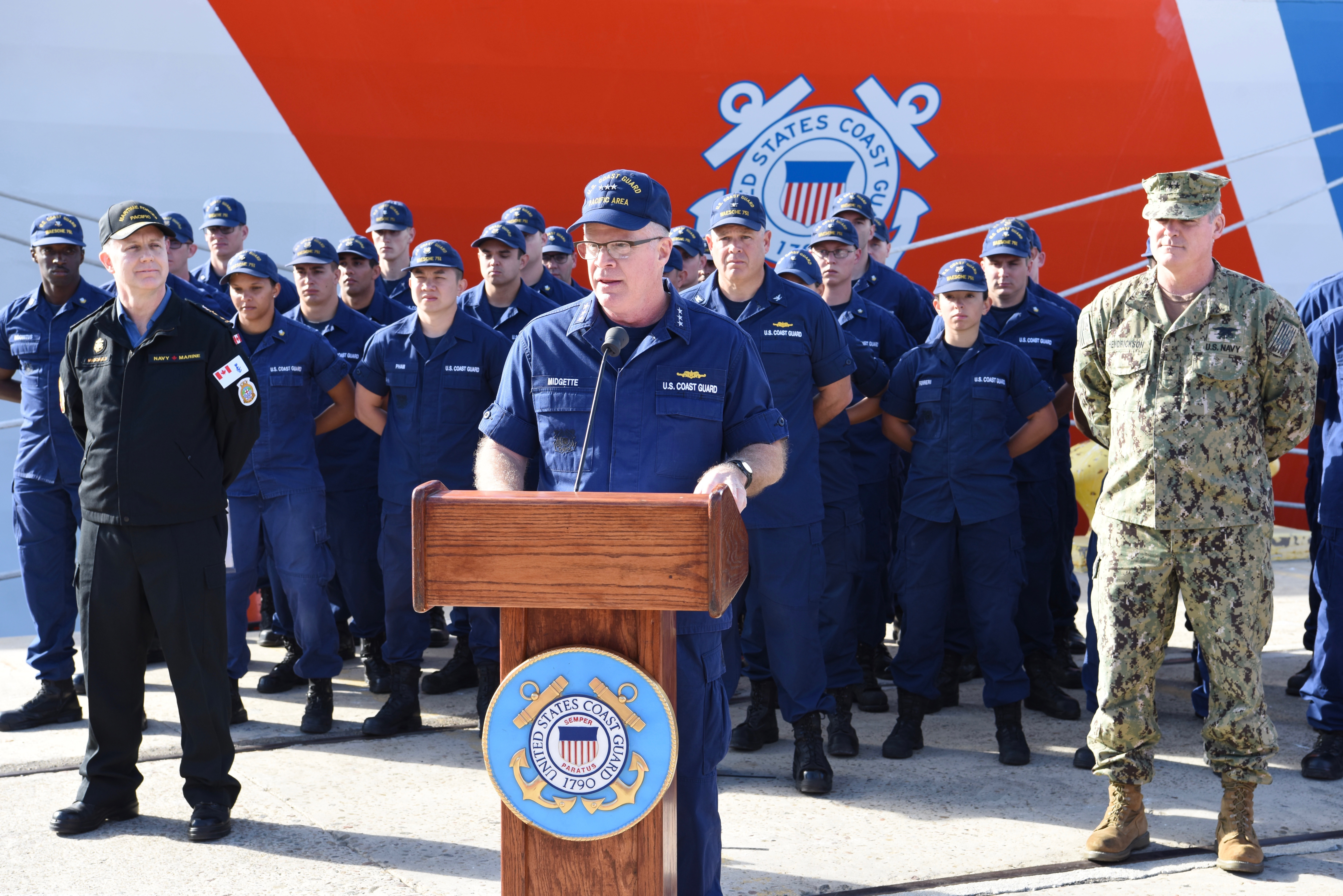 VIDEO: Coast Guard Fighting New Stealthy, Fast Drug