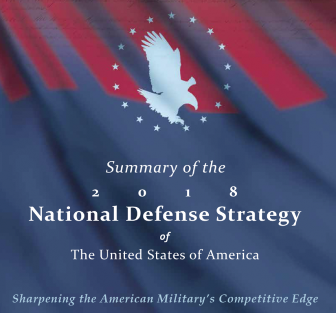 2018 Department of Defense National Defense Strategy