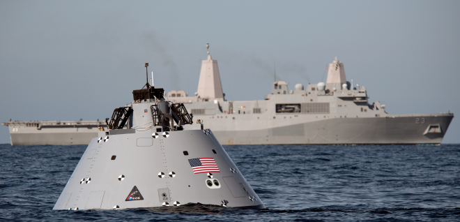 USS John P. Murtha Completes Orion Spacecraft Recovery Tests