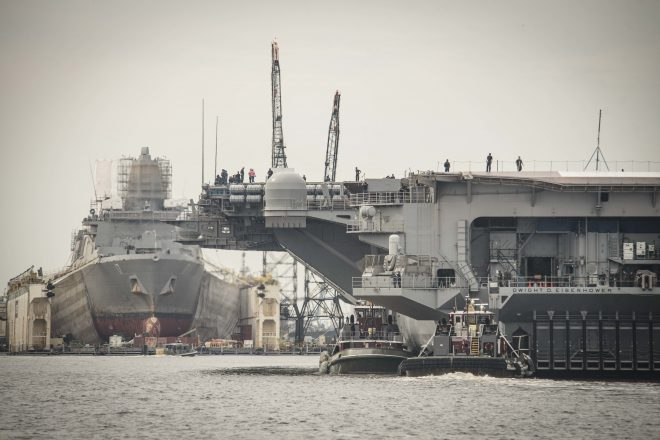 Naval Shipyard Plan Due to Congress This Month