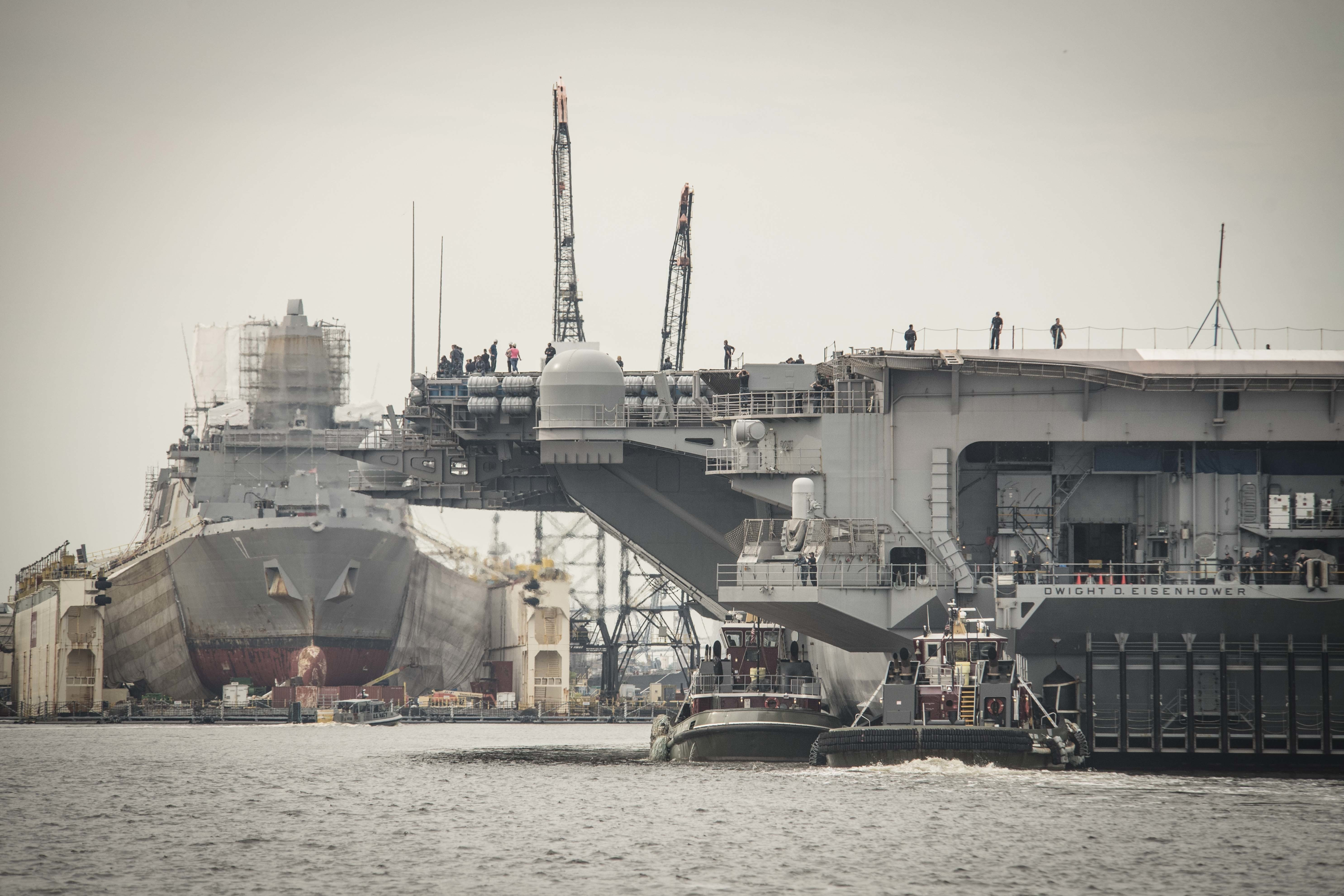 Aircraft Carrier Deployments at 25 Year Low as Navy