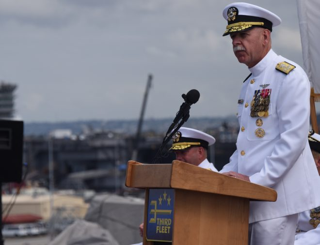 Adm. Swift: Pacific Fleet Should Both Train and Operate Forces