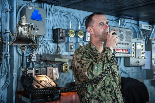 CNO Richardson: Navy Needs 6 Elements to Create 'Whole' Fleet