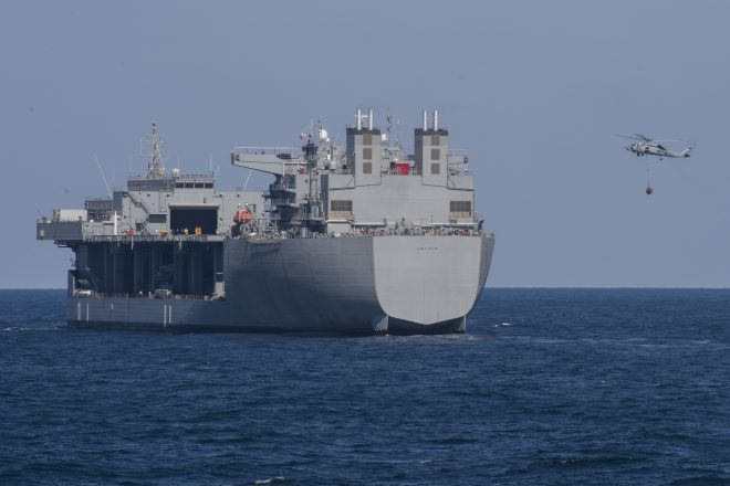ESB USNS Hershel 'Woody' Williams Likely to Deploy to Mediterranean