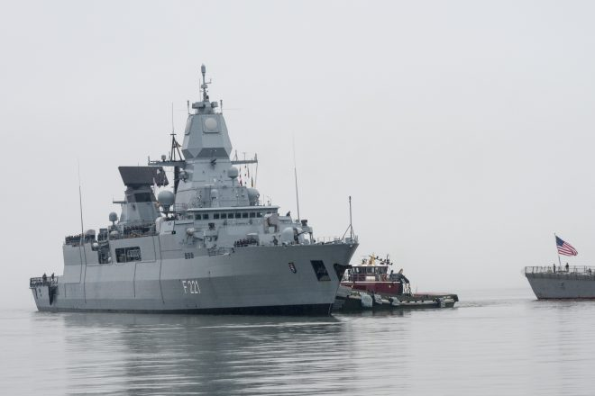 Truman Strike Group to Train with Norwegian Frigate, Deploy with German Frigate