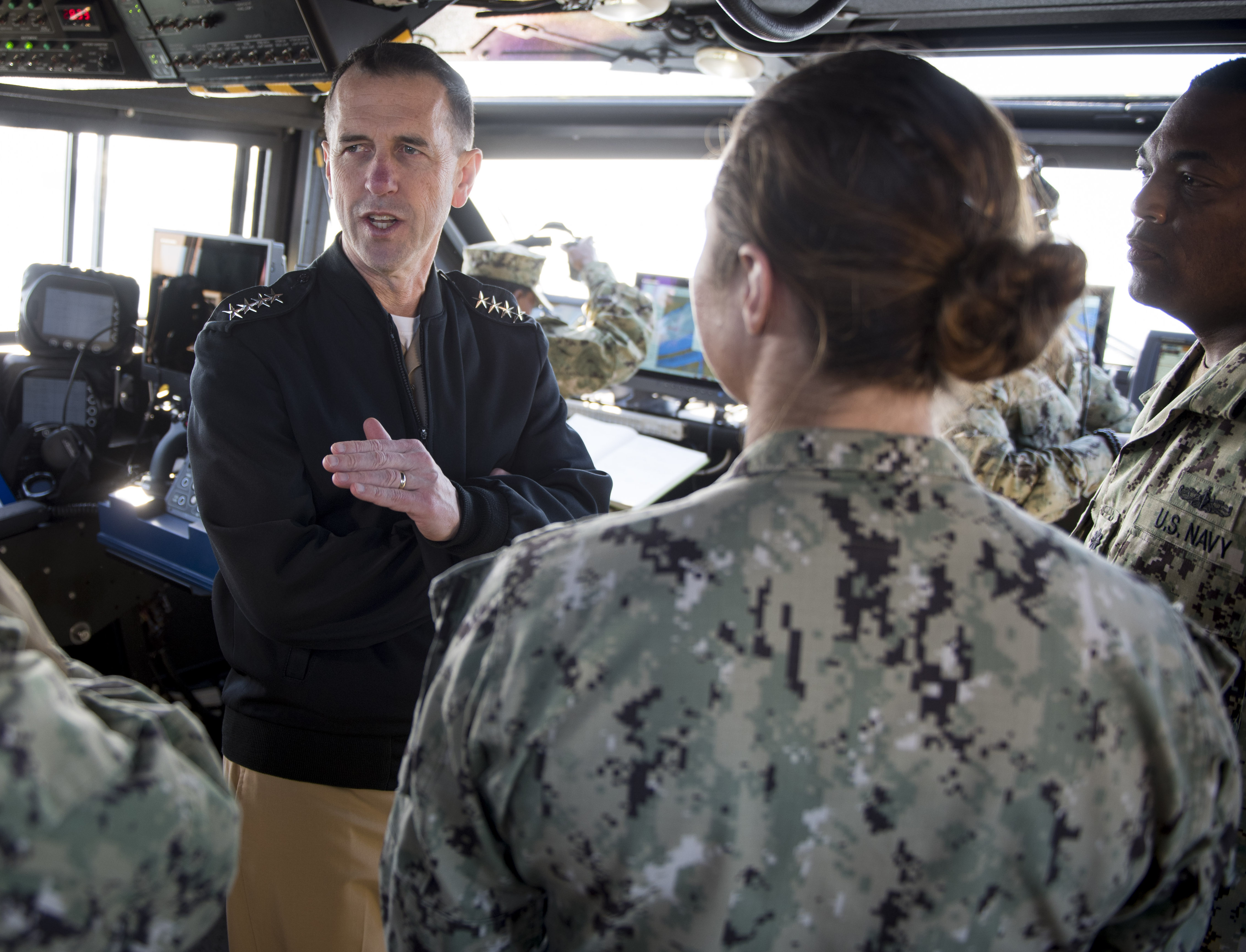 CNO: 2019 Budget Aims for 'Whole' Fleet, Faster Construction