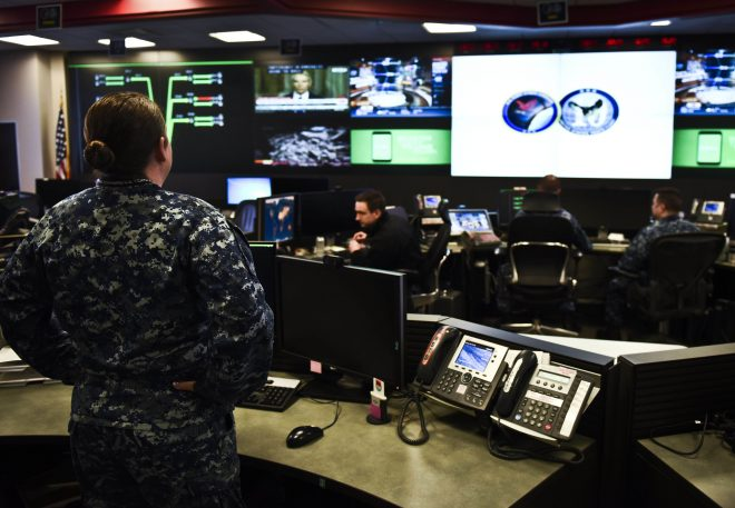 Navy Sees 'Difficult Times' With Recruiting Goals for Nuclear, Cyber Sailors