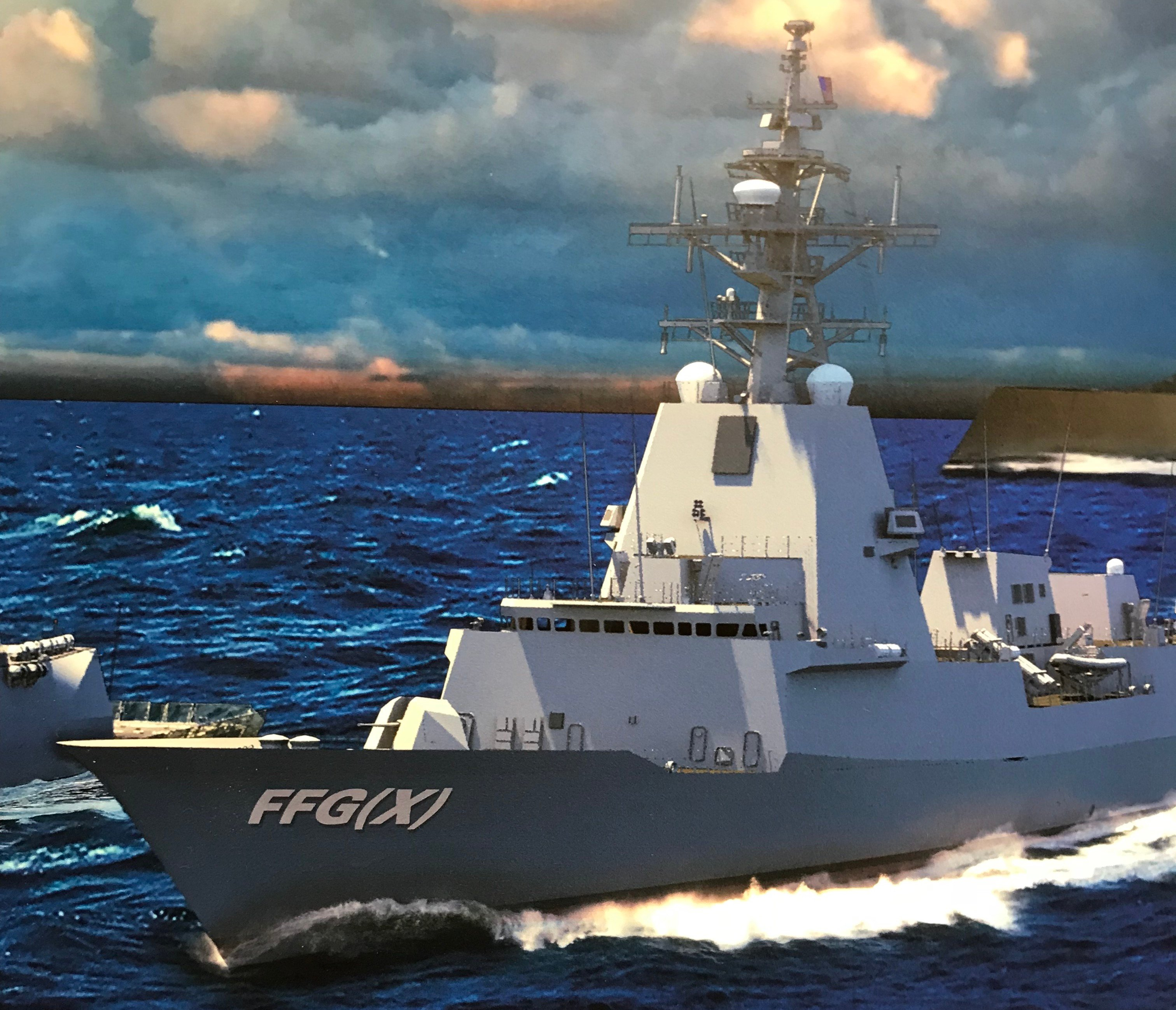 Navy Picks Five Contenders for Next Generation Frigate FFG(X