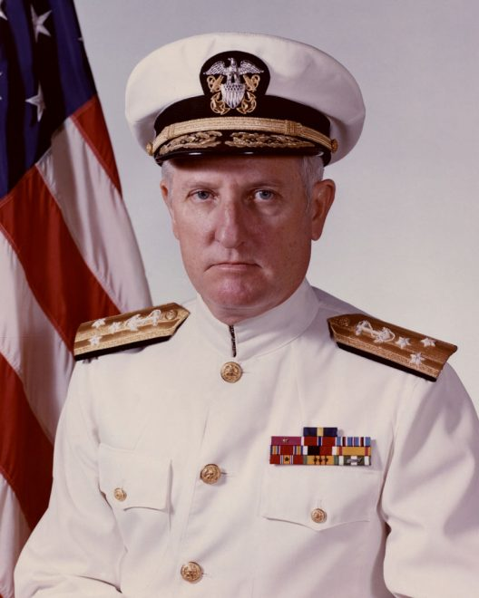 Aegis Fleet Champion Vice Adm. James H. Doyle, Jr. Dies