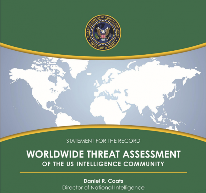 Document: 2018 U.S. Worldwide Threat Assessment