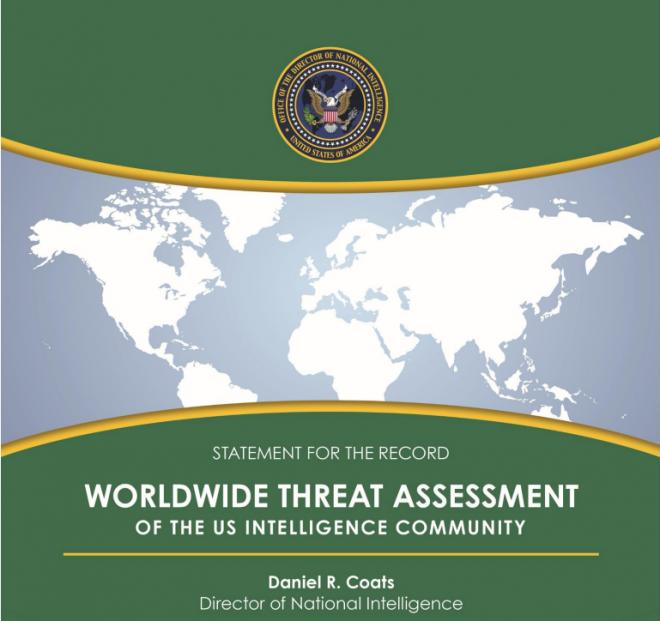 Document: 2018 U.S. Worldwide Threat Assessment