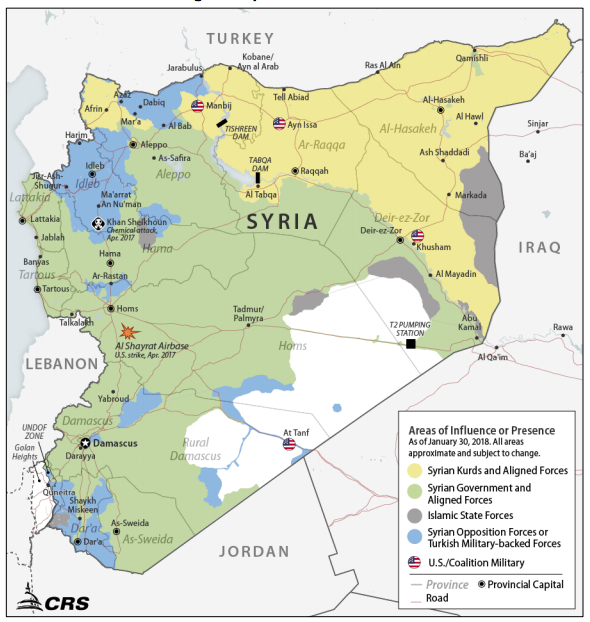 Report to Congress on Armed Conflict in Syria and U.S. Response