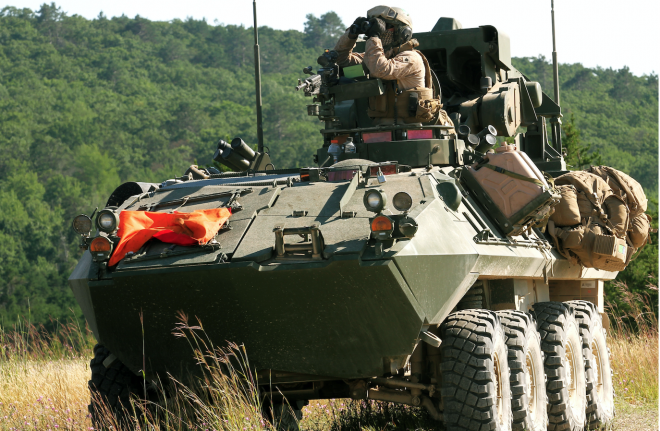 Marines Ready to Begin LAV Replacement After Talks With Industry on Next-Gen Capabilities