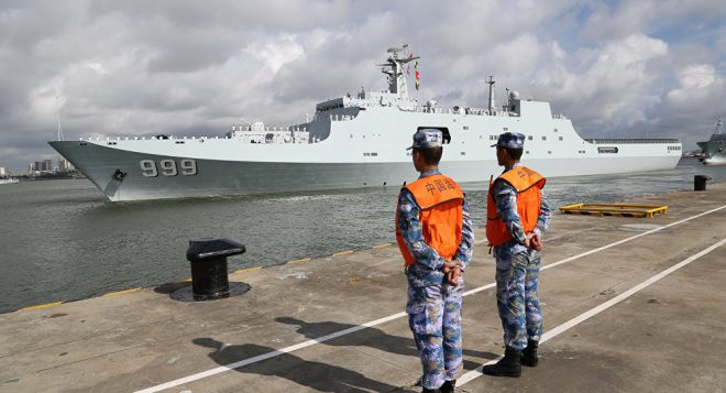 Former Navy Intel Officer: Chinese Navy 'Very Competent,' Getting Better