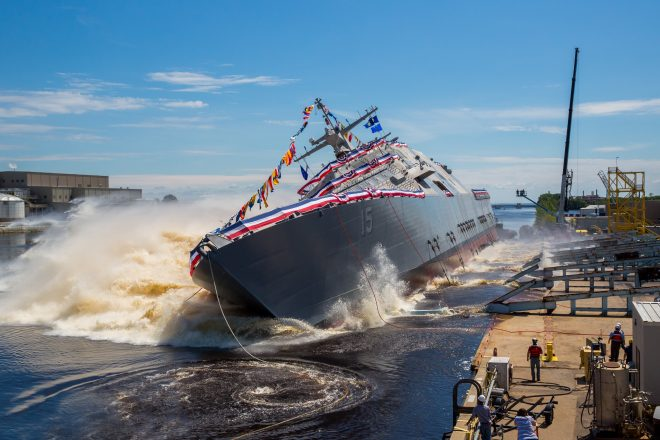 SECNAV Spencer: LCS Build Rate 'Not Optimal' But 'Good' for Sustaining Yards Ahead of FFG(X)