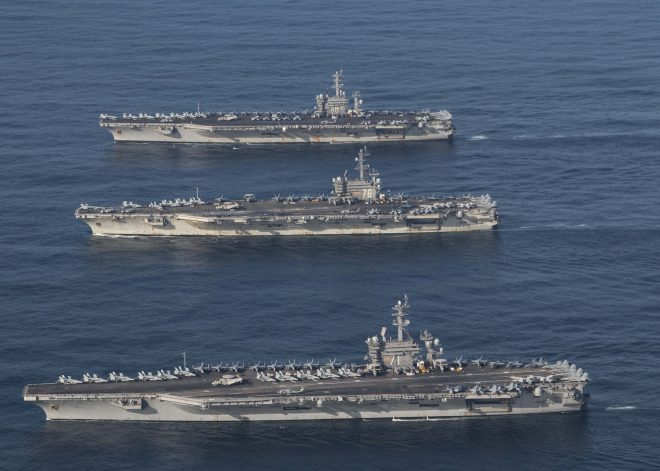CNO: 'Dynamic Force Employment' Could Allow More High-End Training for Strike Groups