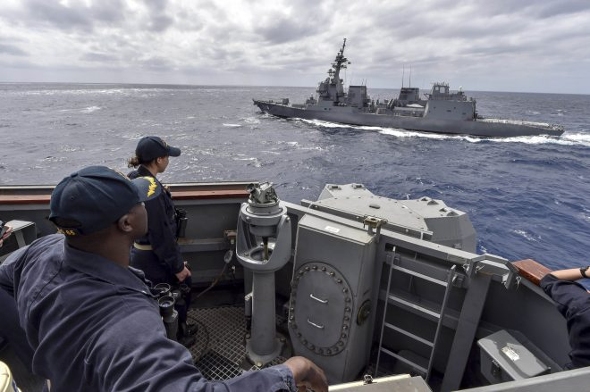 Navy Won't Ramp Up Deployments to a 131 Ship Average by 2023