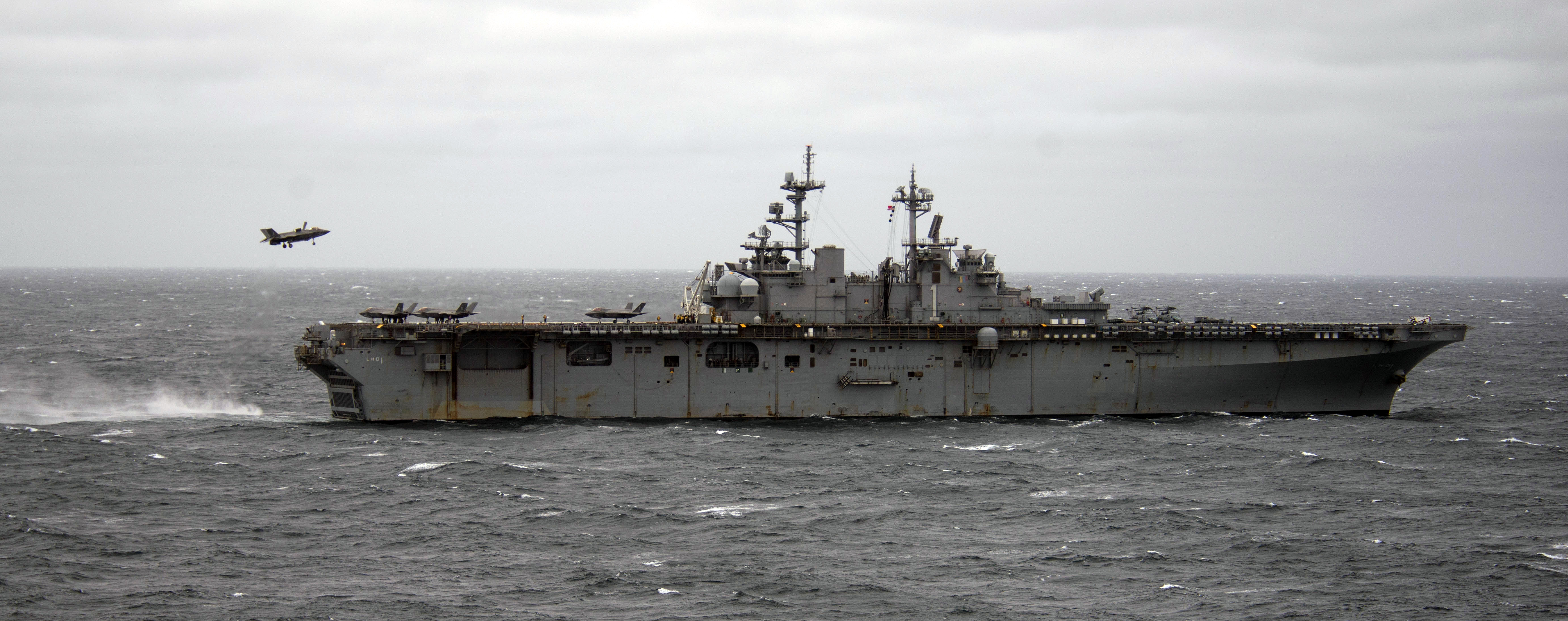 USS America Will Head to Japan to Serve as Next Forward