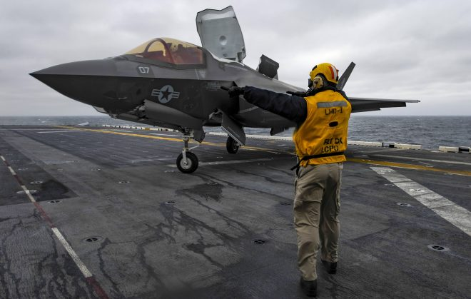 Commandant Neller Sees F-35B as Key to Marine Corps' Future at Sea