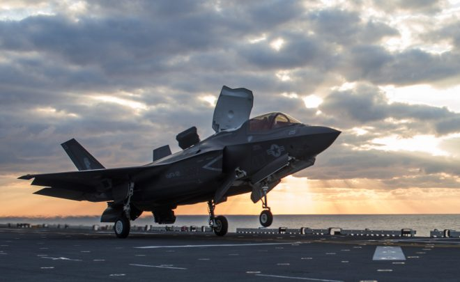 F-35B Crashes Near Marine Corps Air Station Beaufort; Local Sheriff Says Pilot Ejected Safely