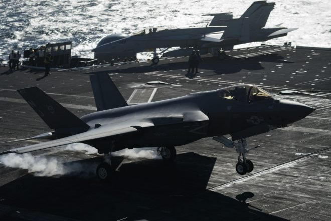 F-35C, Super Hornet Damaged During At-Sea Aerial Refueling