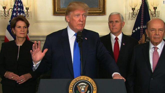 Trump Technology Tariffs Against China Designed to Protect U.S. Military Advantage