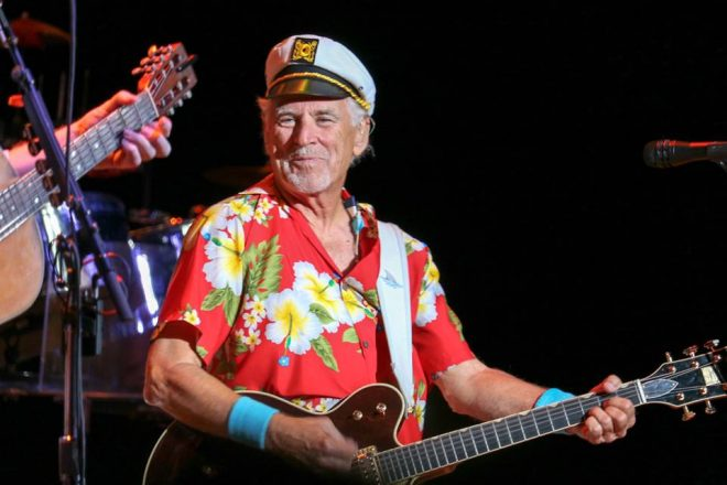 It's Always 1700 Somewhere: Jimmy Buffett Presented Navy Civilian Award