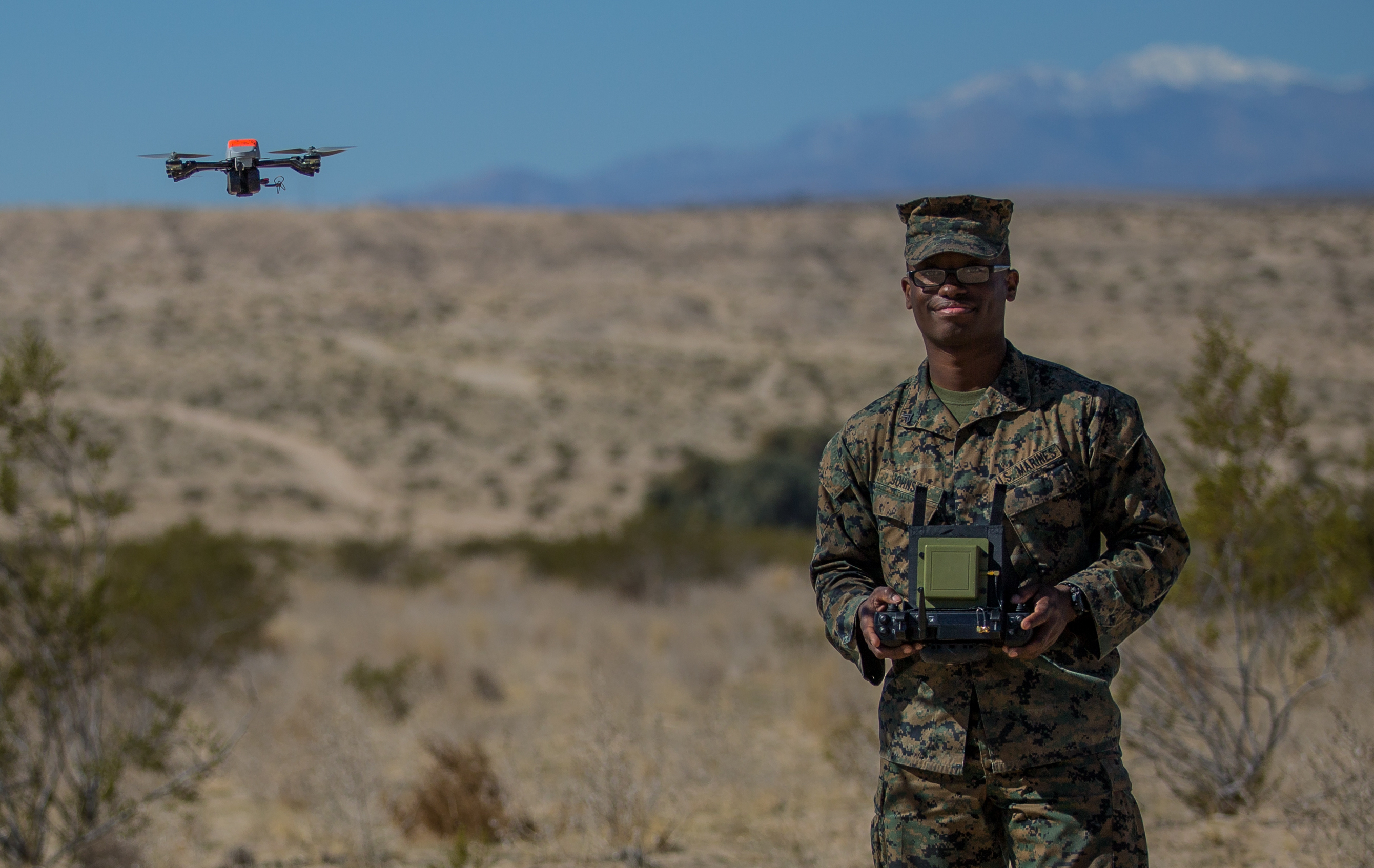 First Marine Battalion Gets 'Eyes in the Sky' Mini-Drones