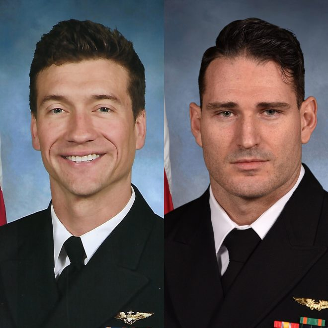 Navy Identifies Two Aviators Killed in Key West Super Hornet Crash